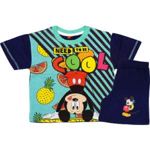 Σετ Παιδικό K/Μ Μακώ Mickey Disney (Μπλε) (Κωδ.200.43.010)