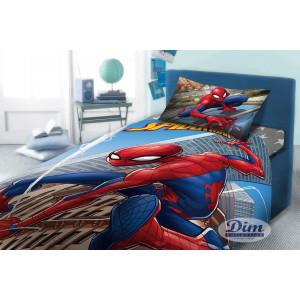 Σετ Σεντόνια + Μαξιλαροθήκη 3 τεμαχίων Spiderman (#621.336.011#)