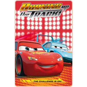 Κουβέρτα φλις Cars Disney ΚΟΚΚΙΝΗ (Διαστάσεις 1.00cm x 1.50cm) (Κωδ.387.01.023)