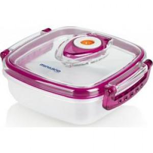 Miniland Δοχείο φαγητού με σύστημα αποσυμπίεσης Pink (702.01.007)