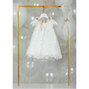 Ολοκληρωμένο σετ βάπτισης κορίτσι Piccolino RENATA DR20S22 BEIG  narlis.gr