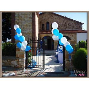 Μπαλόνια Στήλες για Στολισμό Εκκλησίας (Κωδ.101033)