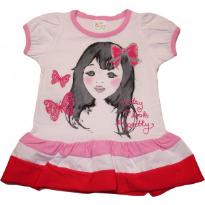 Φόρεμα Κ/Μ Παιδικό (Ροζ) (Κωδ.582.130.015)
