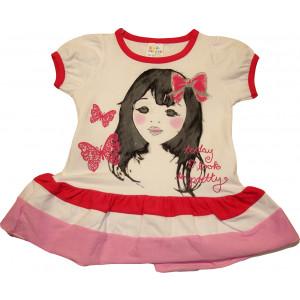 Φόρεμα Κ/Μ Παιδικό (Φουξ) (Κωδ.582.130.015)