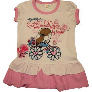 Φόρεμα Κ/Μ Παιδικό (Ροζ) (Κωδ.582.130.013)