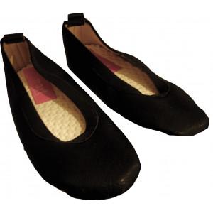 Παπουτσάκια Μπαλέτου (Δερματίνη) (Μαύρο) (Κωδ.701.146.001)