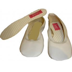 Παπουτσάκια Μπαλέτου (Δερματίνη) (Λευκό) (Κωδ.701.146.001)