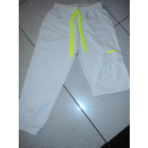 Παντελόνια Φόρμας Μακώ με Στάμπα & Λάστιχο (Άσπρο) (Κωδ.008.22.002)(Ανω των 10 τεμ. 6 €)