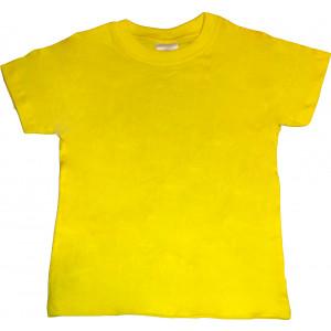 Μπλούζα Κ/Μ Μονόχρωμη (Κίτρινο) (Κωδ.200.10.026)