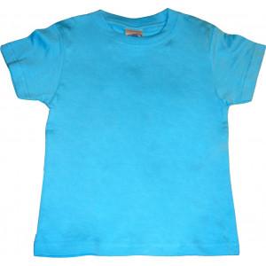Μπλούζα Κ/Μ Μονόχρωμη (Σιελ) (Κωδ.200.10.026)