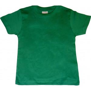 Μπλούζα Κ/Μ Μονόχρωμη (Πράσινη) (Κωδ.200.10.026)
