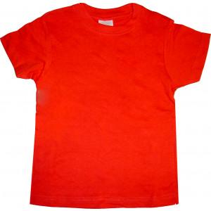 Μπλούζα Κ/Μ Μονόχρωμη (Κόκκινο) (Κωδ.200.10.026)