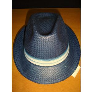 Καπέλο Ψάθινο με Μπλε - Σιελ Ρίγα (Μπλε) (Κωδ.592.512.001)