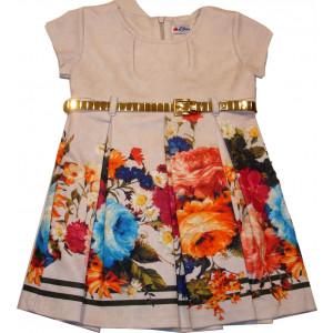 Φόρεμα Κ/M (Μπεζ) (Κωδ.291.86.054)