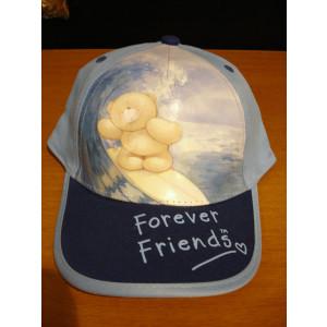 Καπέλο Jockey F.Friends (Σιελ) (Κωδ.161.512.237)