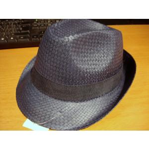 Καπέλο Ψάθινο με Μπλε Σκούρη Ρίγα (Μπλε) (Κωδ.592.512.001)