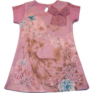 Φόρεμα (Ροζ) (Κωδ.291.86.070)