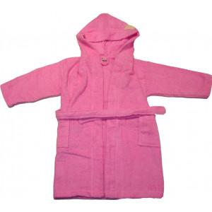 Μπουρνούζι Παιδικό (Ροζ) (Κωδ.582.144.008)