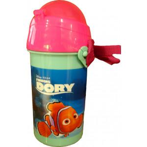Πλαστικό Παγούρι Dory Disney (Με καλαμάκι) (Κωδ.151.539.054)