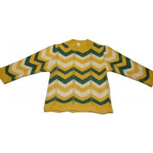 Μπλούζα Πλεκτή (Κίτρινο) (Κωδ.294.18.013)