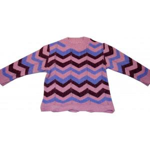 Μπλούζα Πλεκτή (Ροζ) (Κωδ.294.18.013)