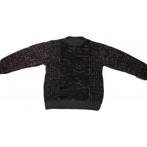 Μπλούζα Πλεκτή (Γκρι Σκούρο) (Κωδ.294.14.025)