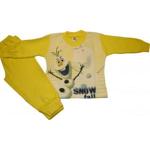 Πυζάμα M/Μ Χιονάνθρωπος (Κίτρινο) (Κωδ.489.68.030)
