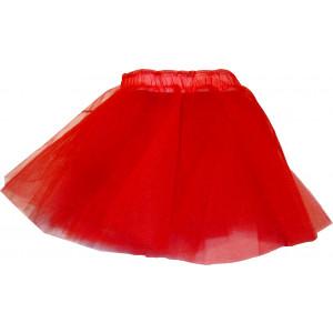 Φούστα Mπαλέτου Tούλινη (Κόκκινο) (Κωδ.437.01.002)