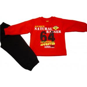 Φόρμα Φούτερ (Κόκκινο) (Κωδ.077.40.410)
