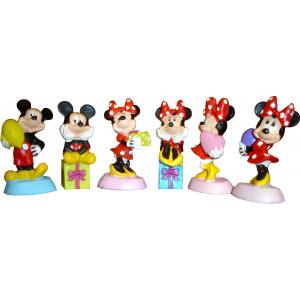 Πολυεστερικές Φιγούρες (Mickey & Minnie) Disney (Κωδ.627.02.002)