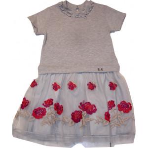 Φόρεμα Κ/M (Γκρι Ανοιχτό) (Κωδ.291.86.132)