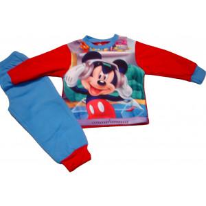 Πυζάμα Μακρύ Μανίκι Mickey Φλις Disney Σιελ  D33527