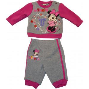Φόρμα Φούτερ Minnie Disney (Γκρι Ανοιχτό) (Κωδ.200.130.002)