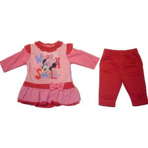 Μπλουζοφόρεμα & Κολάν Minnie Disney  Ροζ  Κωδ.200.130.004