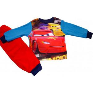 Πυζάμα M/Μ Cars Φλις Disney (Κόκκινο) (Κωδ.200.68.006)