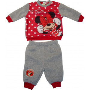 Φόρμα Φούτερ Minnie Disney (Κόκκινο) (Κωδ.200.130.006)