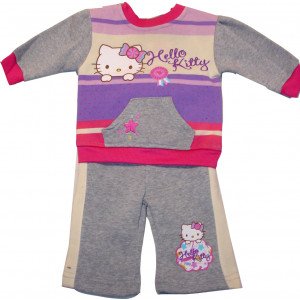 Φόρμα Φούτερ Hello Kitty Disney (Γκρι Ανοιχτό) (Κωδ.200.130.001)