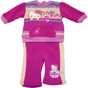 Φόρμα Φούτερ Hello Kitty Disney (Μελί) (Κωδ.200.130.001)
