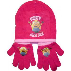 Σκούφος & Γάντια Minions Disney (Φουξ) (Κωδ.161.503.218)
