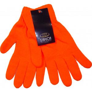 Γάντια Πλεκτά Μονόχρωμα (Πορτοκαλί) (Κωδ.214.504.011)