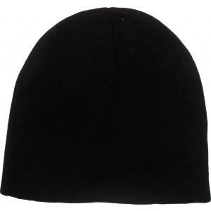 Σκουφί Πλεκτό Μονόχρωμο (Μαύρο) (Κωδ.200.125.006)