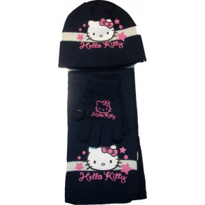 Σκουφάκι & Κασκόλ & Γάντια H.Kitty Disney (Μπλε) (Κωδ.115.503.005)