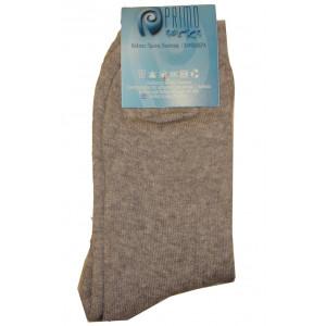 Κάλτσες Μπουρνουζέ Μονόχρωμες (Γκρι Ανοιχτό) (Κωδ.585.62.001)