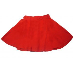 Φούστα Μακώ Latin (Κόκκινο) (Κωδ.583.01.001)