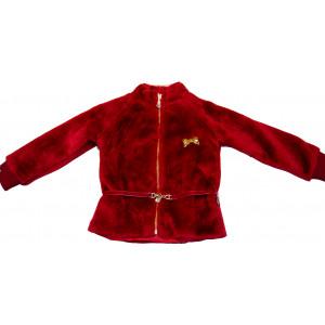 Ζακέτα Γούνινη Μακρύ (Κόκκινο) (Κωδ.291.09.005)