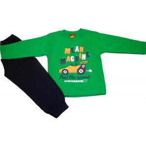 Φόρμα Φούτερ (Πράσινο) (Κωδ.077.40.296)