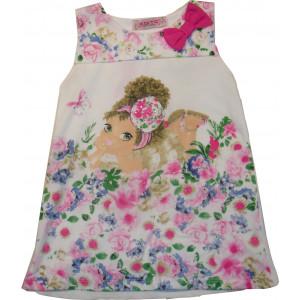 Φόρεμα Παιδικό Αμάνικο Ροζ 291.87.597