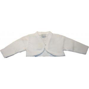 Μπολερό Πλεκτό (Άσπρο) (Κωδ.516.052.000)
