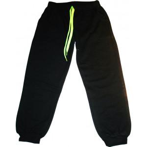 Παντελόνι Φόρμας Φούτερ (Μαύρο) (Κωδ.008.22.003)