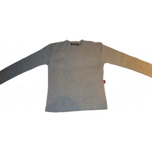 Μπλούζα Μονόχρωμη Βαμβακολύκρα (Γκρι Ανοιχτό) (Κωδ.583.532.001)
